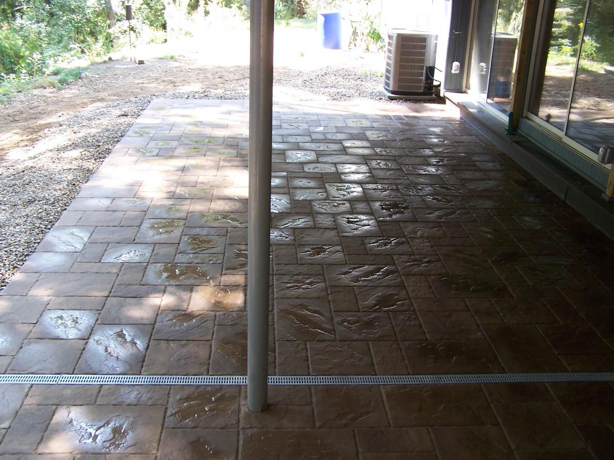 Melrose ma drainage lcm plus for Patio drainage
